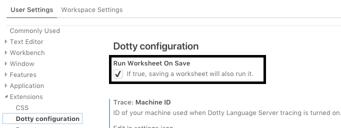 Worksheet mode with Dotty IDE